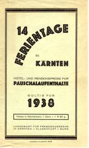 enlarge picture  - brochure Austria Kaernten