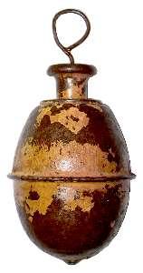 Spielzeugkreisel aus Eihandgranate Modell 1939
