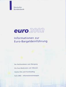 enlarge picture  - brochure Euro currency