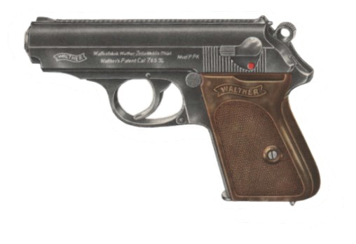 Pistole Walther PPk Zella Mehlis