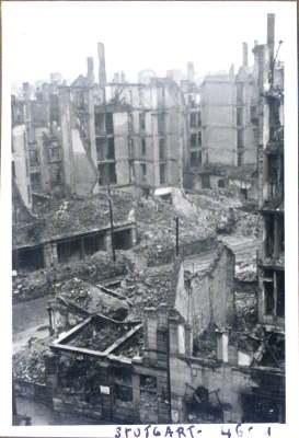 Stuttgarter Innenstadt 1946