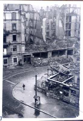 Innenstadt von Stuttgart 1946