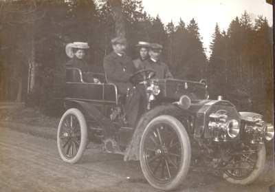 Foto Auto Rudolf Kneiff 1904