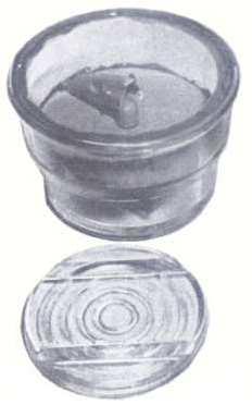 Wehrmachtsmine aus Glas